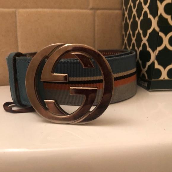 5440f62c6 Gucci Accessories   Mens Belt Size 42 American   Poshmark